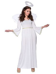 #Adult sexy christmas angel #ladies fancy dress costume xmas #party outfit 14-24, View more on the LINK: http://www.zeppy.io/product/gb/2/191731577203/