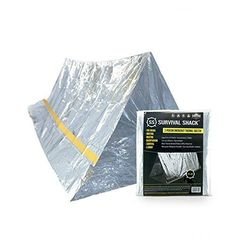Survival Shack® Emergency Survival Shelter Tent   2 Person Mylar Thermal Shelter   8' X 5' All Weather Tube Tent   Reflective Material Conserves Heat   Lightweight   Waterproof   Best Survival Gear, http://www.amazon.com/dp/B01GOL67YG/ref=cm_sw_r_pi_n_awdm_N0QIxbSJP38YG