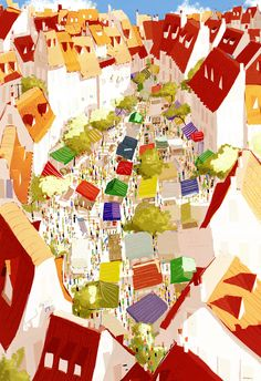 Pascal Campion 085 (Market Day by Pascal Campion)
