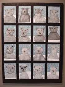 a faithful attempt: Chalk Polar Bears