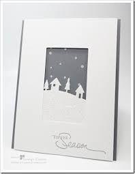 Bildergebnis für stampin up silent night cards