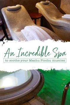 The Cusco Spa you don't want to miss after you've completed the Inca Trail to Machu Piccu Peru Machu Picchu Inca Trail, Machu Picchu Trek, Peru Travel, Travel Tips, Backpacking Tips, Beauty Advice, South America Travel, Luxury Travel, Travel Pictures