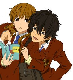 Shizuku and Haru (My Little Monster)