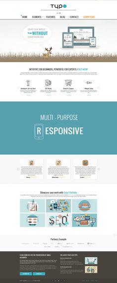 Responsive Multipurpose Wordpress Theme   Unlimited customization   Theme Options