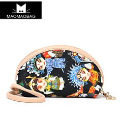 Hot ! Chinese Opera bag Cat bag national trend bag day clutch  bag mini bag women wallet  $21.99