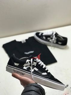 15515fd6aaa off white sleek  sneakersvans Custom Vans Shoes