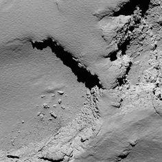Le straordinarie immagini di Rosetta prima dell'impatto sulla cometa