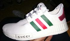 Gucci NMDs Fresh Kicks, Adidas Sneakers, Gucci, Shoes, Fashion, Moda, Zapatos, Shoes Outlet, Fashion Styles
