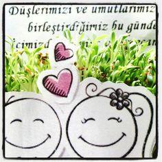 Sizin kadar sirinler :) They are cute as much as you :) www.organicard.com Cute, Kawaii