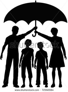 Bildergebnis für umbrella silhouette couple kiss with a child Crayon Crafts, Crayon Art, Couple Silhouette, Silhouette Art, Umbrella Art, Kids Vector, Melting Crayons, Diy Canvas, Stock Foto