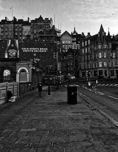 Waverley Bridge today at around 1 degree. Visit Edinburgh, Scotland, Bridge, Explore, Street, City, Places, People, Travel