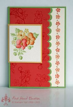 Stampin' UP! Bordering on Romance by First Hand Emotion