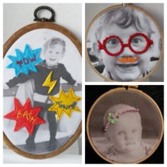 Photo hoop art - The Supermums Craft Fair