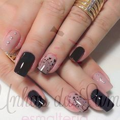 Photo taken by @esmaltadadeplantao on Instagram, pinned via the InstaPin iOS App! (10/16/2014) Perfect Nails, Gorgeous Nails, Love Nails, Pretty Nails, Fun Nails, Colorful Nail Designs, Nail Art Designs, Country Nails, Glamour Nails