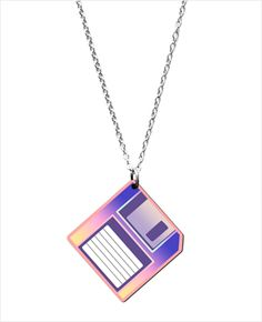 Floppy Disk necklace
