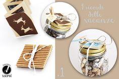 Come conservare i ricordi delle vacanze.  Un'idea creativa dal blog www.farecreare.it