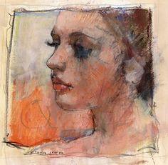acrylic study profile by derekjones on DeviantArt