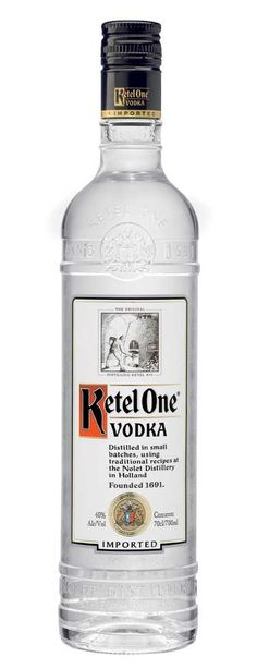 """Ketel One Vodka (Engraved Bottle); Face it: The """"Mad Men"""" crew is cooler than you are   spiritedgifts.com"""