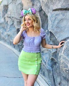 Ariel Disneybound Outfit   Disney Style   Minnie Ears   Disney Outfit Ideas   Disneyland Outfit