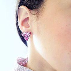 """92 """"Μου αρέσει!"""", 2 σχόλια - Vicky Chatzistylianou (@fairydustpolymerclay) στο Instagram: """"The perfect accessory to wear all day long ! Aren't they gorgeous ??? Tag a friend that would…"""" Handmade Items, Handmade Jewelry, Polymer Clay Necklace, Fairy Dust, Handmade Polymer Clay, Artisan, Lovers, Magazine, Group"""
