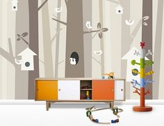 Sne Design – nursery art, wallpaper & cards now shipping from Norway to Australia!