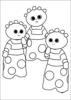 Disegni da colorare per bambini. Colorare e stampa La Foresta dei Sogni 14