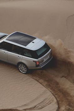 Desert Drift - © with a Range Rover
