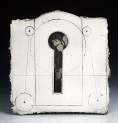 Keyhole Reliquary with Butterflies