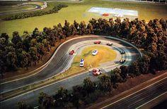 Slot Car Track Layouts | Custom HO slot car track builder Jason Boye's work is well known.