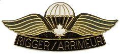 Canada Canadian Airborne PARACHUTE PARA Rigger JUMP WINGS