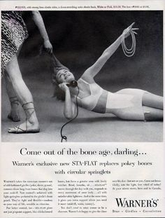 Enter The Strange World Of Vintage Lingerie Ads