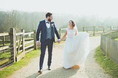 Relaxed Country Spring Farm Wedding Kent http://sashaweddings.co.uk/