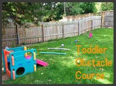 Toddler Obstacle Course for Toddlers -- Eat Clean Play Hard