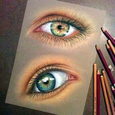 Dessiner des yeux / Draw eyes ♤Melyk
