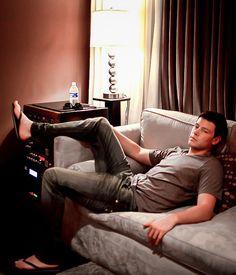 Glee Cast, It Cast, Orange Is The New Black, Blue And White, Chandler Massey, Finn Glee, Dylan Everett, Jo In Sung, Finn Hudson