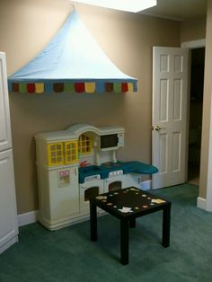 """Our 2-4's classroom """"cafe"""" area"""