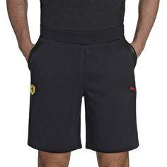 8c6e76107ba7 Men s Puma Scuderia Ferrari Fleece Bermuda Shorts - Trousers and Shorts -  Menswear - Scuderia Collection