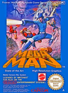 Mega Man. When I played, the characters didn't look like that.