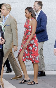 #FirstDaughter Of The United States  #SashaObama Visited Prado Museum In Madrid July 1, 2016