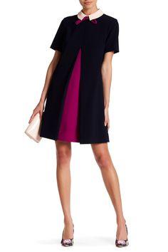 Wonce Contrast Pleat Tunic Dress by Ted Baker London on @HauteLook