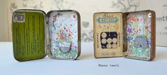 vintage tin artworks