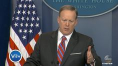 Sean Spicer to reporter April Ryan: 'Stop shaking your head'