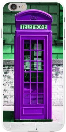 The London Telephone Box - Purple   Didn't know if it should be under Purple or Dr Who .