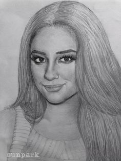 Emily Fields (Shay Mitchell) Sketch from Sun Park! | Pretty Little Liars
