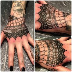 victorian lace tattoo - Google Search