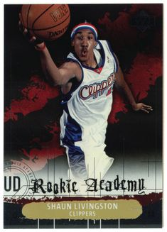 Shaun Livingston # RA 27 - 2004-05 Upper Deck Basketball Rookie Academy