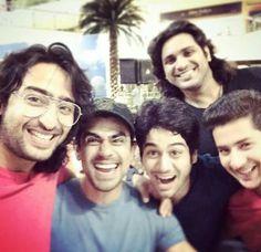 Shaheer with mahabharat team (at Indonesia)