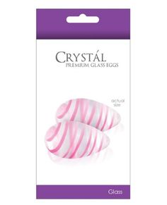 Vibrating NS Novelties Crystal Glass Eggs  Clear ** More info could be found at the image url.