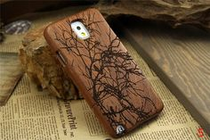 Wood Wooden Protective Bumper Case cover shell for SAMSUNG Galaxy NOTE3 N9000 N9002 N9005 N9009