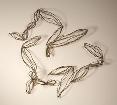 Semillas (Seeds)   60 x 55 x 22 cm   Tres módulos (Three modules)   Latón (Brass)   Pieza única (One piece)   2013.  http://www.marinaanaya.com